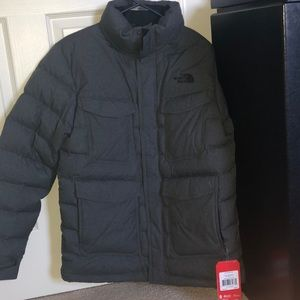 A north face winter coat
